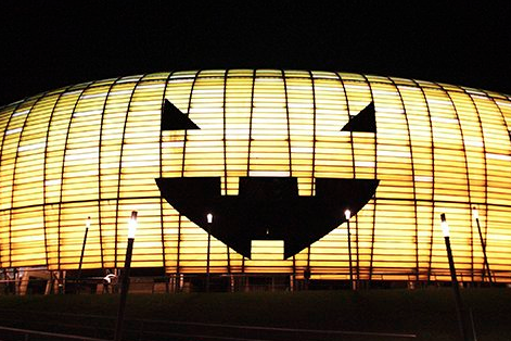 Sport Picture of the Day: Halloween Stadium