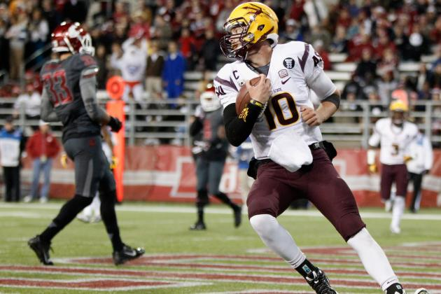 Arizona State Sun Devils Cruise Against Washington State Cougars, Win 55-21