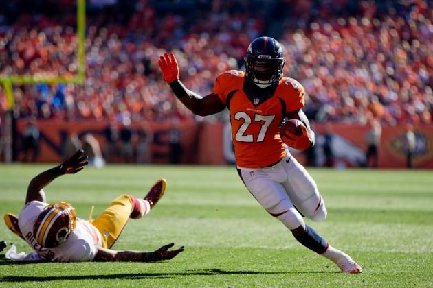 Broncos RBs Find a Groove Heading into Bye Week