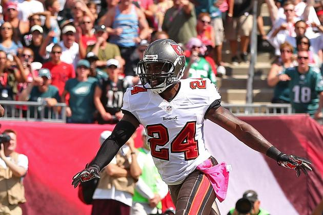 Bucs' Revis: Knee Kept Him from Playing Man Coverage