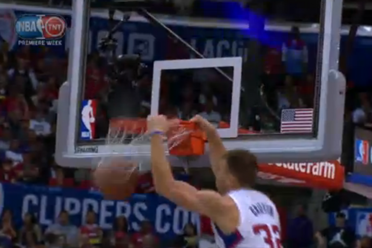 Blake Griffin Throws Down 3 Consecutive Dunks off Warriors Turnovers
