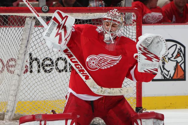 Wings Recall Goalie Mrazek; Gustavsson Has Strained Neck
