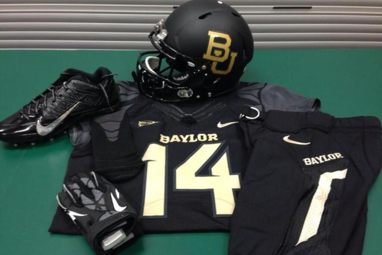 Baylor Will Wear All-Black Uniforms Against Oklahoma