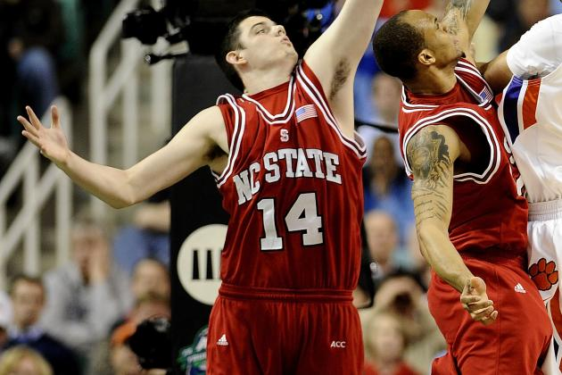 Vandenberg's Ankle Injury Saps NC State of Biggest Big Man