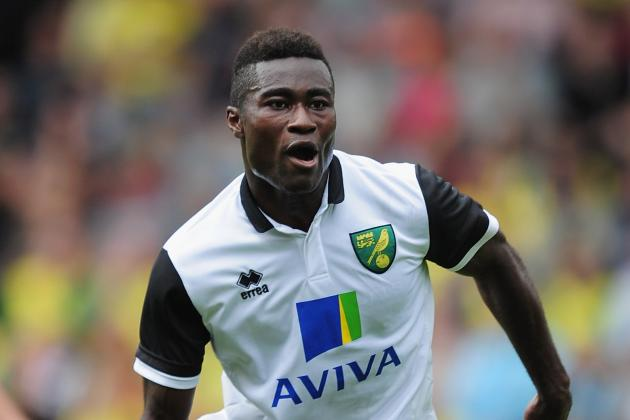 Norwich's Tettey out for 'months'