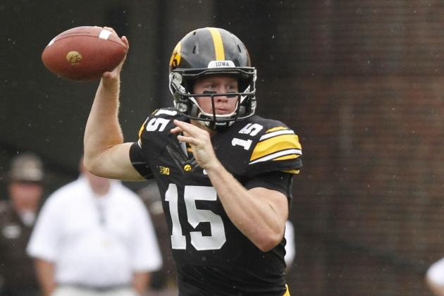 Jake Rudock May Need to Air It out Against Wisconsin
