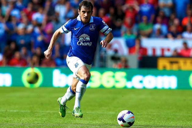 Leighton Baines Won't Leave Everton for Manchester United, Says Roberto Martinez
