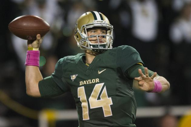 Where Baylor's Top Offensive Players Would Fit in the NFL