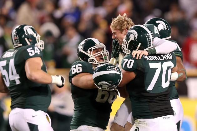 Michigan State O-Line Reaches Full Strength