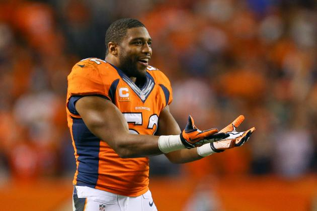 Wesley Woodyard Fined $15,750 for Helmet-to-Helmet Hit Sunday
