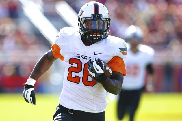 Why Oklahoma State RB Desmond Roland Could Have Another Huge Game vs. Texas Tech