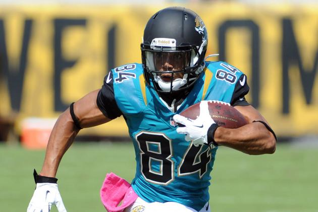Cecil Shorts' Updated Fantasy Outlook After Justin Blackmon Suspension