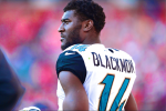 Report: Jags' WR Blackmon to Enter Rehab