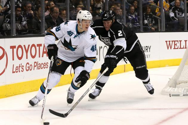 Sharks' Hertl Named NHL Rookie of the Month