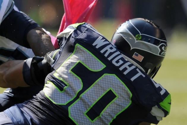 Wright Fined for Hit on Rams RB Stacy