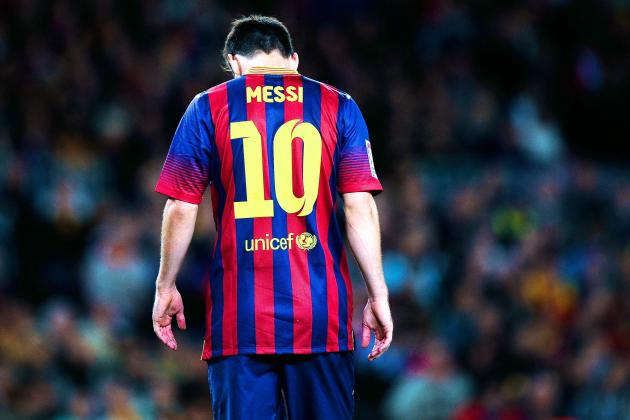 Lionel Messi Defended by Barcelona Coach Gerardo Martino over Goal Drought