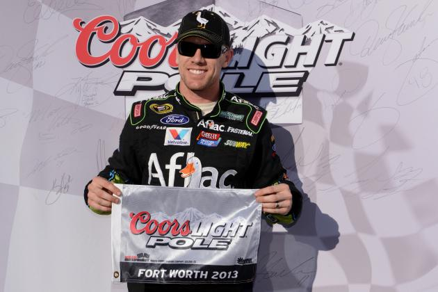 Edwards Wins Coors Light Pole at Texas