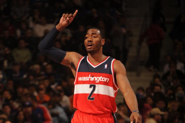 John Wall Tells Half-Empty Washington Arena Wizards Are Best Fans in NBA