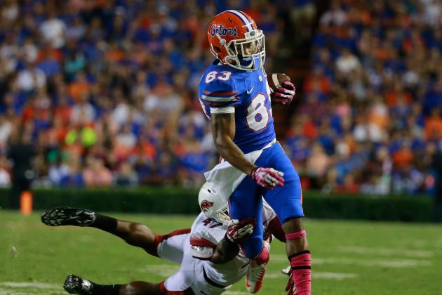 What Solomon Patton's Presence Means for Florida Football vs. Georgia