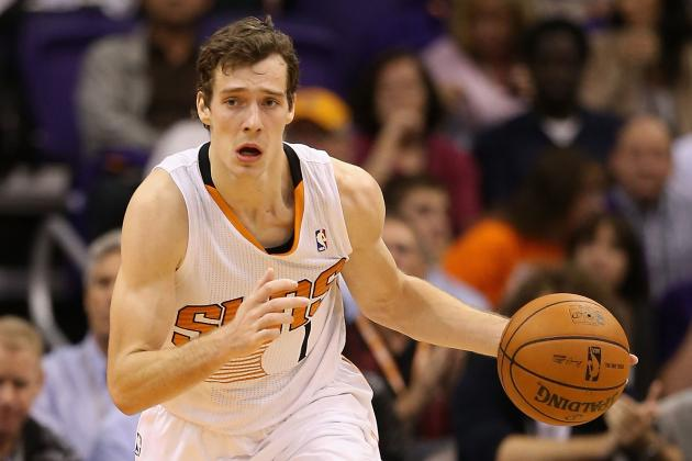 Goran Dragic Leaves Game vs. Jazz