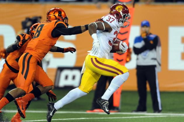 USC's Young RBs Finally Giving Trojans Depth, Light at End of Sanctions Tunnel