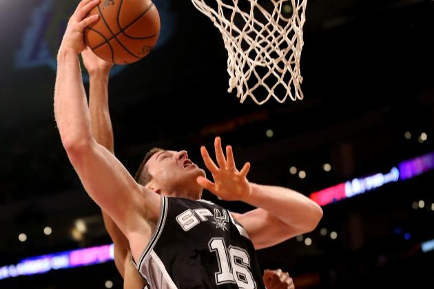 Spurs vs. Lakers 2013 Results: San Antonio Pulls Away for 91-85 Win