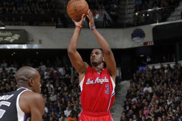 Chris Paul Has 3rd Straight Double-Double to Lead Clippers Past Kings