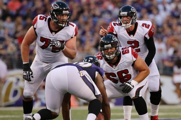 Atlanta's Offensive Line the Root of Many of the Falcons' Woes