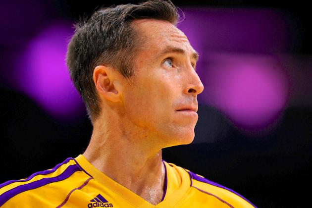 Steve Nash Searching for Answers, Confidence in Early Goings of Lakers Season