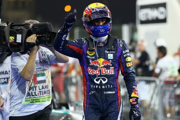 Abu Dhabi F1 Grand Prix 2013: Start Time, Lineup, TV Schedule and More