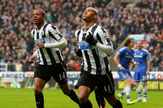 GIF: Loic Remy Puts Newcastle 2-0 Ahead of Chelsea in Premier League