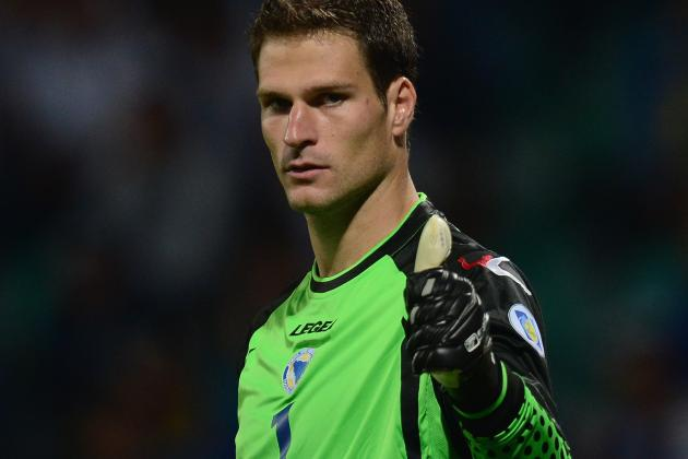 GIF: Goalkeeper Asmir Begovic Scores After 12 Seconds in Stoke vs. Southampton