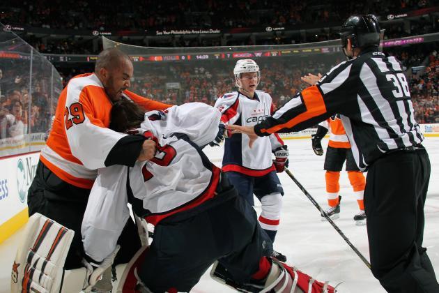 Flyers-Capitals Line Brawl Shows '3rd Man into Fight' Rule Needs Addressing