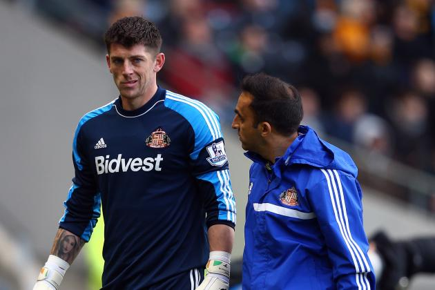 Twitter / Premierleague: SUB Sunderland Keeper Westwood, ...