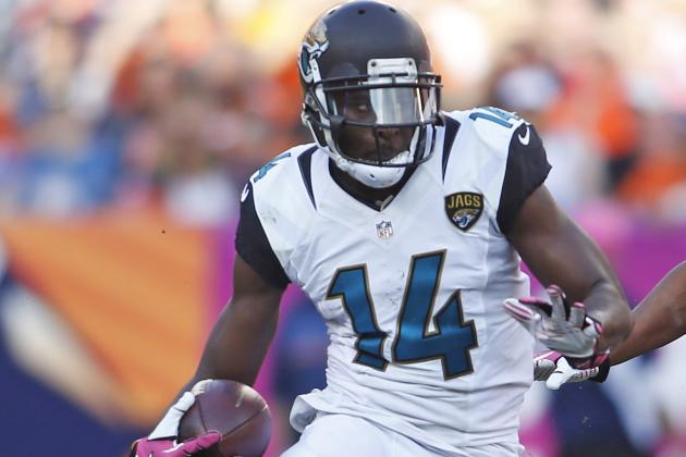 Justin Blackmon's Suspension Means Huge Fantasy Implications for Jaguars' Roster