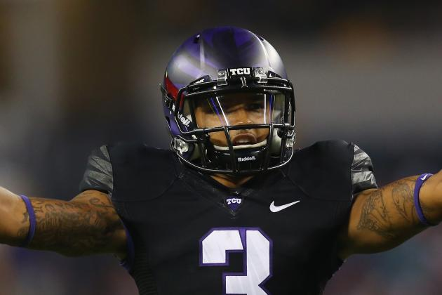 TCU WR Brandon Carter out Today vs. WVU with 'Family Situation'