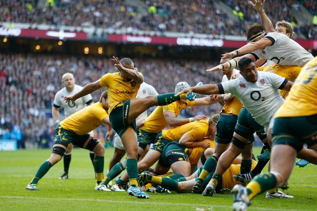 England vs. Australia Rugby 2013: Score and Analysis of Autumn International