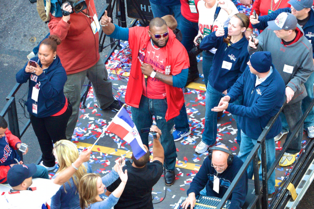 Best Moments from Boston Red Sox's 2013 World Series Parade Celebration