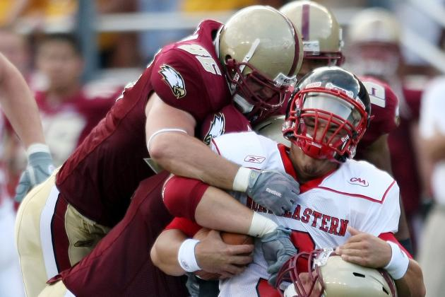 BC's Ramsey Will Not Return with Hamstring Injury