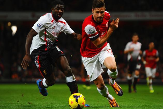 Arsenal vs. Liverpool: Live Player Ratings for Both Teams