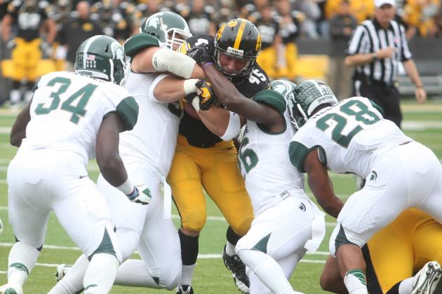 Starting DT ruled out for Michigan State vs.Michigan