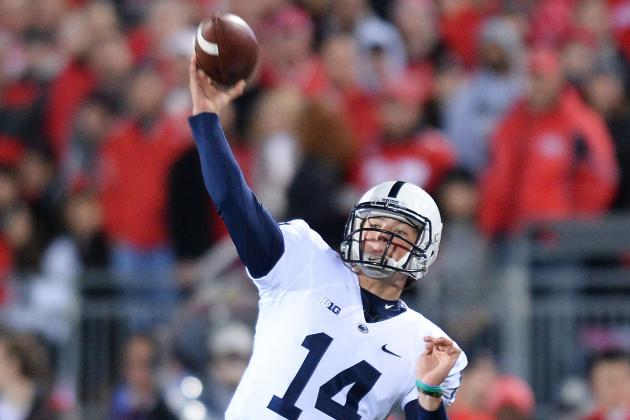 Hackenberg, Penn State Top Illinois 24-17 in OT