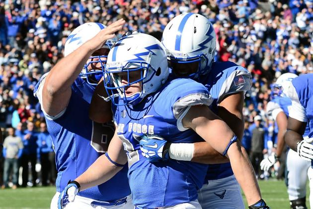 Air Force Controls Army to End 7-Game Skid