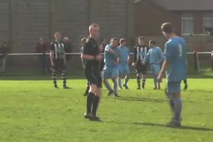 Footballer Punches Opponent in the Face, Somehow Doesn't Get Punished