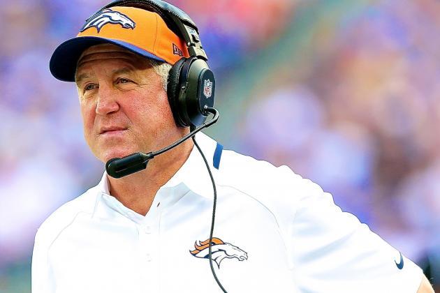 Broncos Coach John Fox Taken to Hospital After Becoming Light Headed