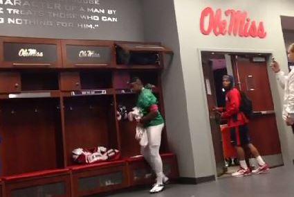 Ole Miss Backup Quarterback Cale Luke Pulls off Halloween Pranks on Teammates