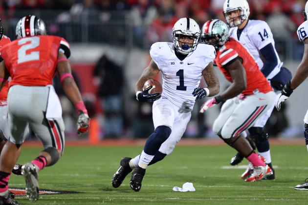 Penn State's Bill Belton Emerging as Lions' Top RB, Gashes Illini for 201 Yards