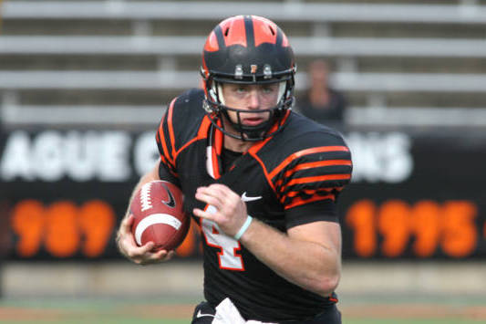 Princeton QB Quinn Epperly Breaks FCS Record by Completing First 29 Passes
