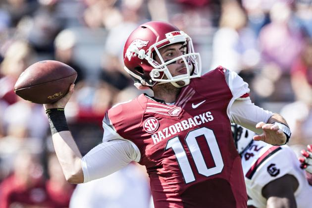 Brandon Allen Injury: Updates on Arkansas QB's Leg, Likely Return Date