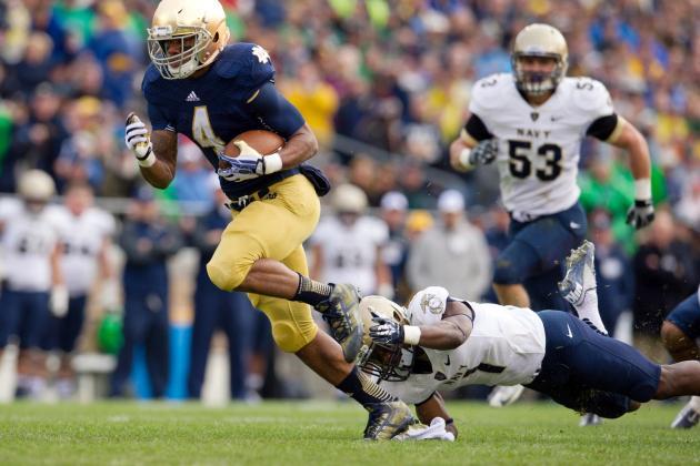 Navy vs. Notre Dame: Score and Analysis as Fighting Irish Avoid Upset Loss